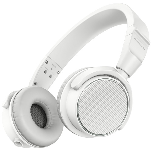 Pioneer HDJ-S7W (White) Professional On-Ear DJ Headphones