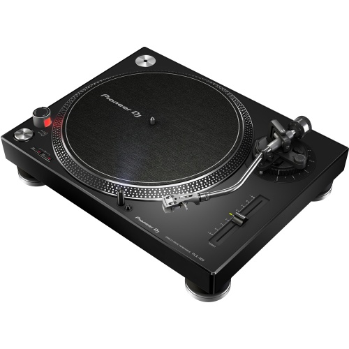 Pioneer PLX500 Black High Torque Direct Drive Turntable (Single)