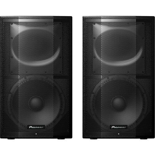 Pioneer XPRS12, 1200w RMS 12'' Active PA Speakers (Pair)