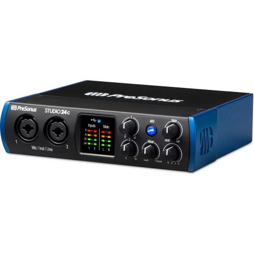 Presonus Studio 24c Ultra-High-Def USB Audio Interface