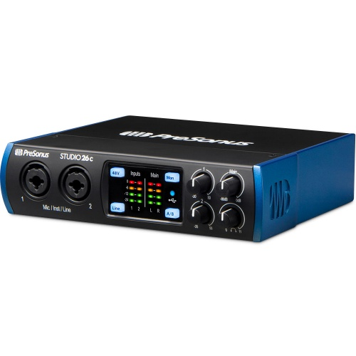 Presonus Studio 26c Ultra-High-Def USB Audio Interface