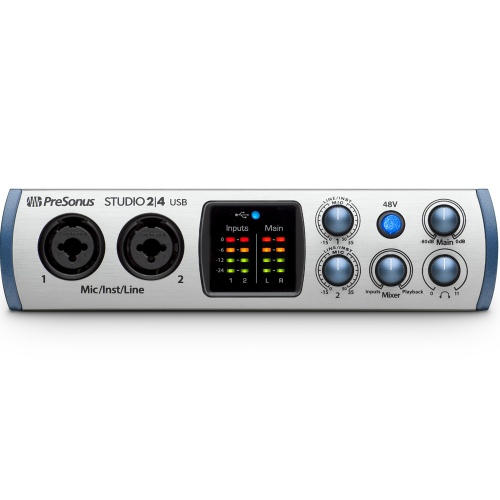 Presonus Studio 2|4 USB-C Audio/MIDI Interface