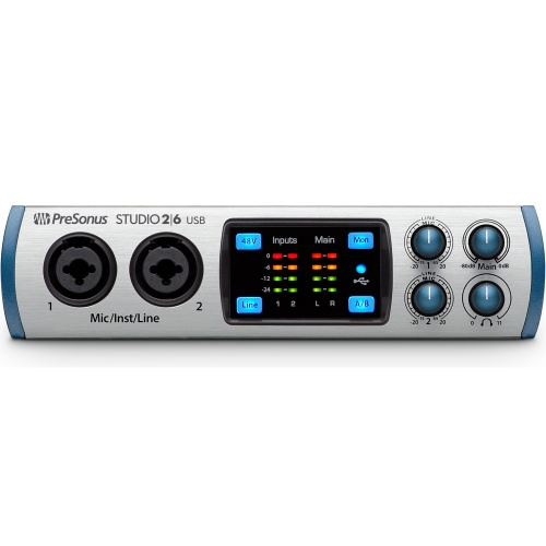 Presonus Studio 2|6 USB 2.0 Audio/MIDI Interface