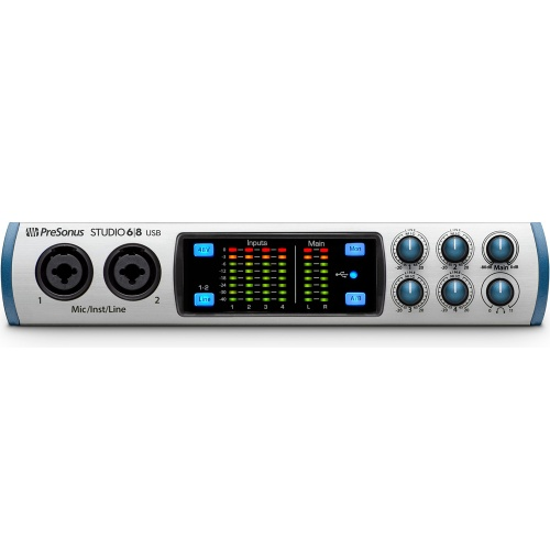Presonus Studio 6|8 USB 2.0 Audio/MIDI Interface