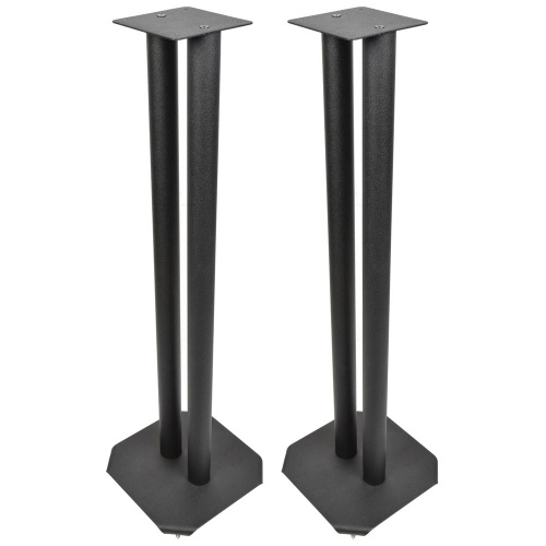 QTX Fixed Height Studio Monitor Stands, Pair (SM-STAND)