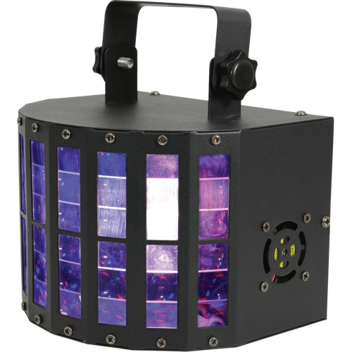QTX Derby 9 LED Multi-Colour Lighting Effects