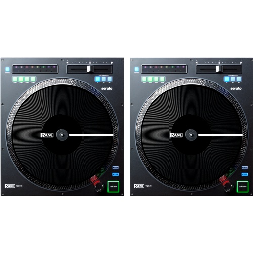 Rane Twelve, Full Size Digital Turntable Controller (Pair)