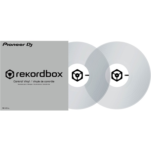 Pioneer RB-VD1-CL Clear Rekordbox DVS Control Vinyl (Pair)