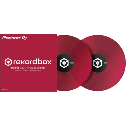 Pioneer RB-VD1-CR Coral Red Rekordbox DVS Control Vinyl (Pair)