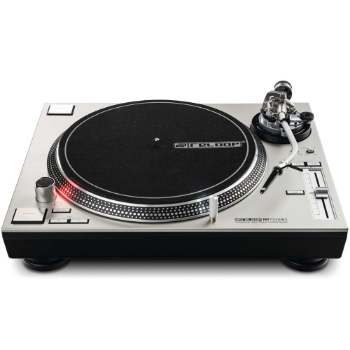 Reloop RP7000 MK2 Silver Professional DJ Turntable (Single)