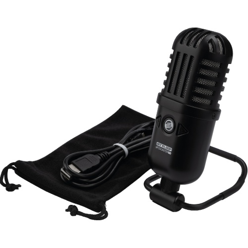 Reloop sPodcasterGO, Professional USB Podcast Microphone