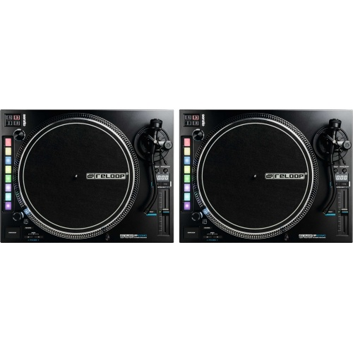 Reloop RP8000MK2 Digital DJ Turntables With MIDI Control (Pair)