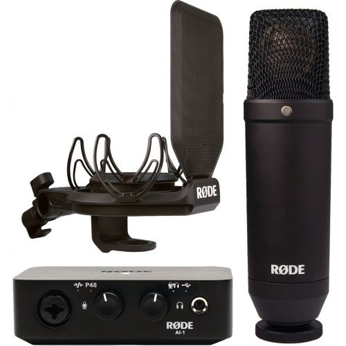 Rode NT1 + AI1 Complete Studio Kit