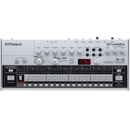 Roland Boutique TR-06 'Drumatix' Drum Machine Based On The Classic TR-606