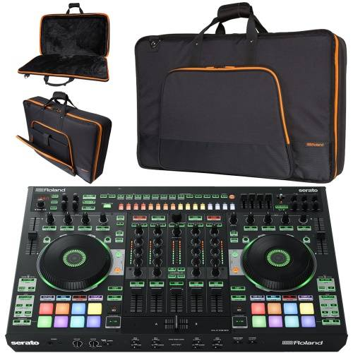 Roland DJ-808 Serato DJ Controller, TR Drum Machine + Official Carry Bag
