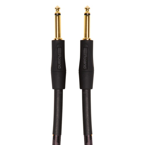 Roland GOLD SERIES Straight/Straight Jack-Jack Instrument Cable (3mtr)