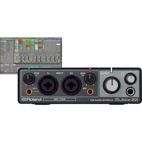 Roland Rubix 22 - 2 In 2 Out USB Audio Interface