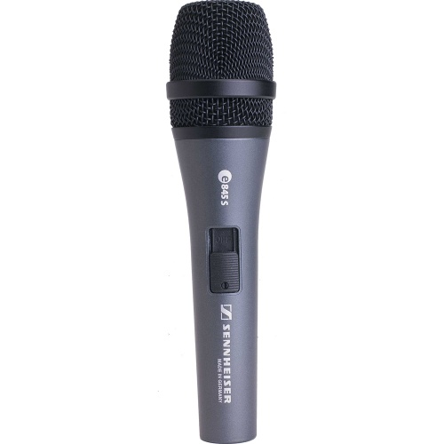 Sennheiser Evolution E845S Handheld Dynamic Vocal Microphone