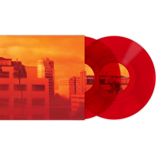 Serato 10'' Timecode Control Vinyl - Red Glass (Pair)