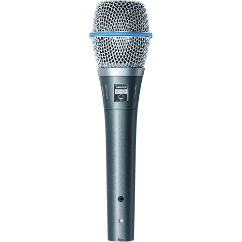 Shure Beta 87A Professional Supercardioid Condenser Vocal Microphone