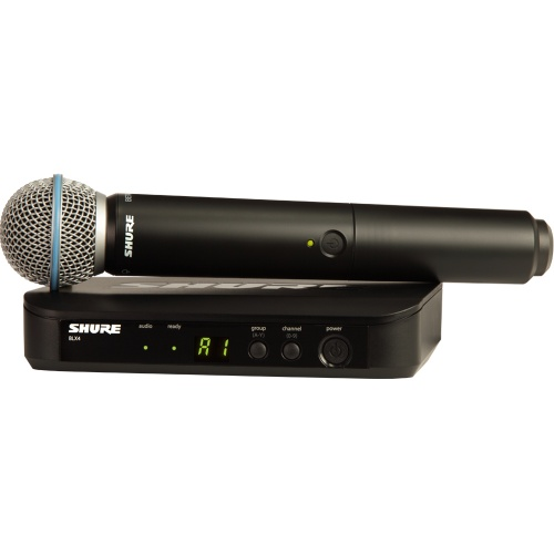 Shure BLX24/B58 Wireless UHF Vocal Microphone