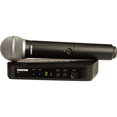 Shure BLX24/PG58 Wireless UHF Vocal Microphone
