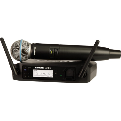 Shure GLXD24/BETA58A Wireless UHF Vocal Microphone