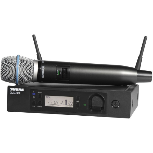 Shure GLXD24R-B87A Wireless Vocal Microphone System