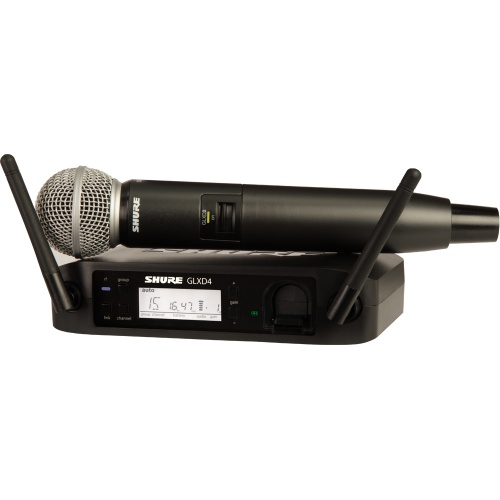 Shure GLXD24/SM58 Wireless UHF Vocal Microphone