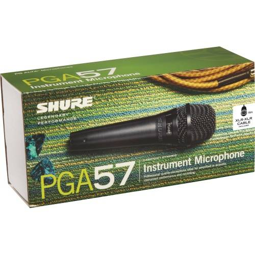 Shure PGA57 Cardioid Dynamic Instrument Microphone