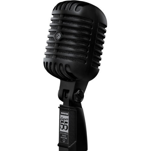 Shure Super 55 Deluxe Vocal Microphone - Limited Edition Pitch Black
