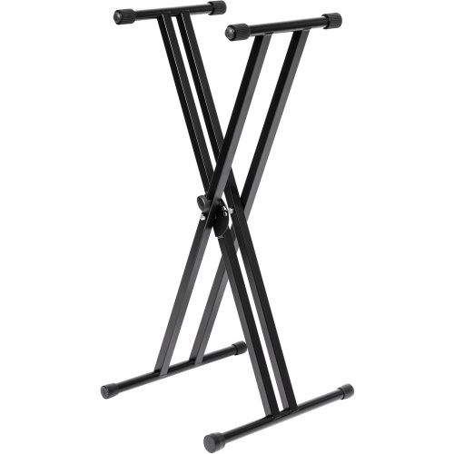 Stagg KXS-A6 Double-Braced X-Style Keyboard Stand, Foldable