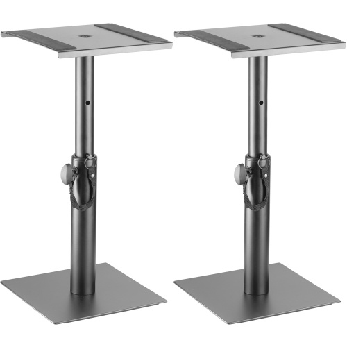 Stagg SMOS-05 Height Adjustable Desktop Monitor Stands (Pair)