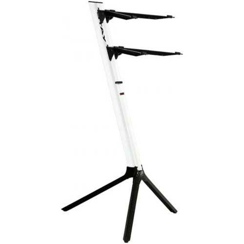 Stay 2-Tier Slim Keyboard Stand (White)