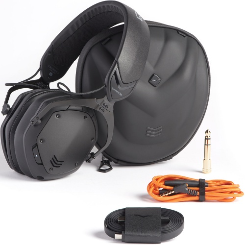 V-Moda Crossfade 2 Wireless Codex Edition Matte Black Metal