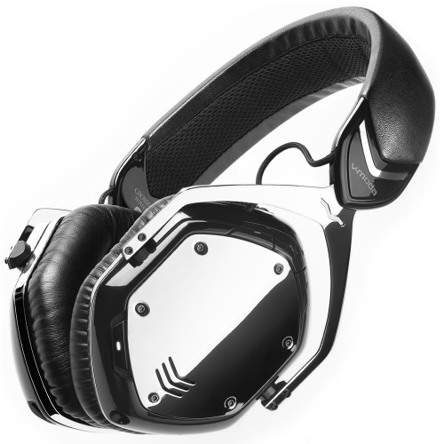 V-Moda Crossfade Wireless Headphones Phantom Chrome
