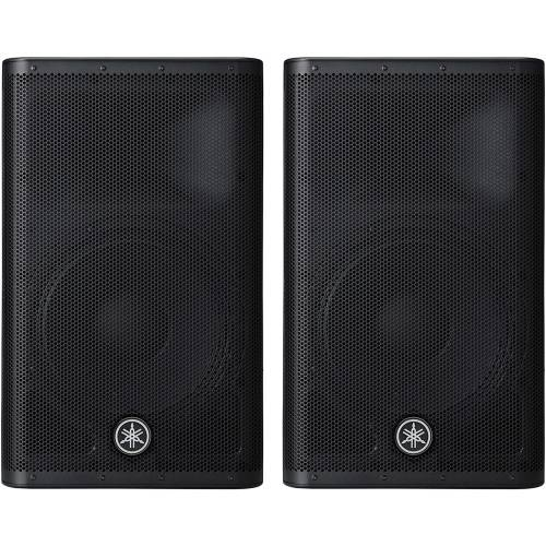 Yamaha DXR12 MK2 700 Watt RMS Active PA Speakers (Pair)