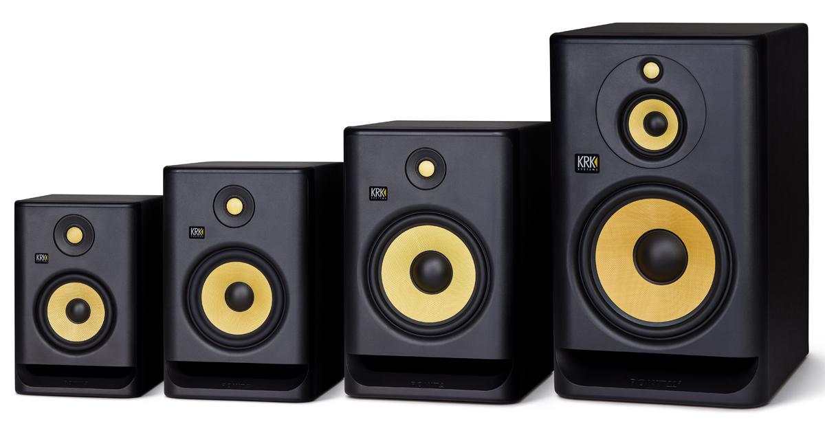 New KRK Rokit Generation 4 Studio Monitors - The Disc DJ Store