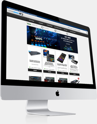 The Disc DJ Store Website